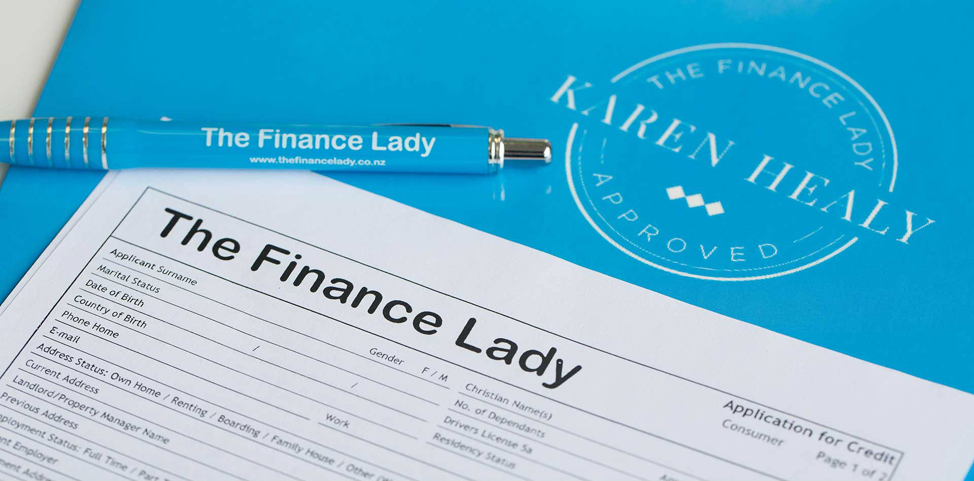 The Finance Lady Forms